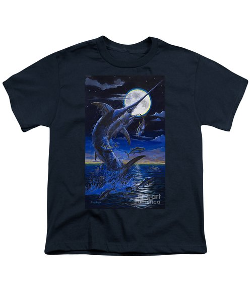 Moon Doggie Off00124 Youth T-Shirt