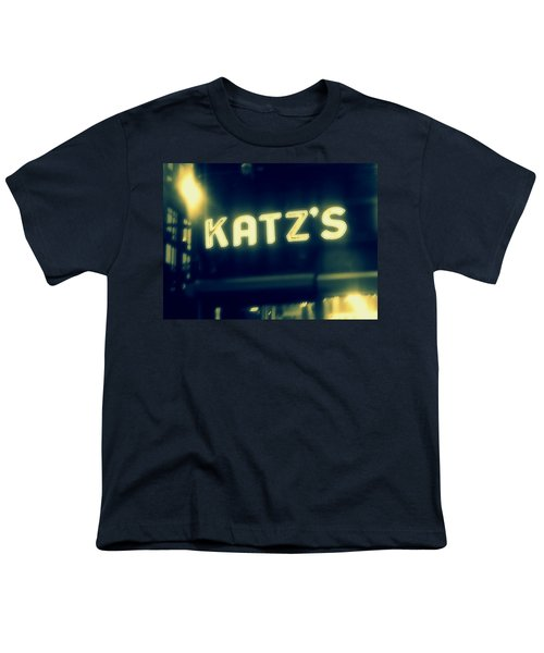 Nyc's Famous Katz's Deli Youth T-Shirt