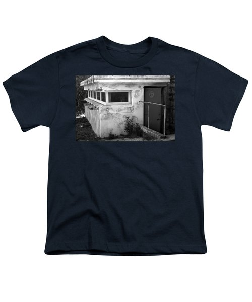 Youth T-Shirt featuring the photograph Old Army Lookout by Miroslava Jurcik