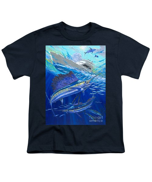 Out Of Sight Youth T-Shirt by Carey Chen