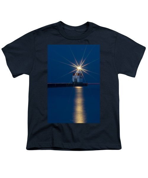 Star Bright Youth T-Shirt by Bill Pevlor