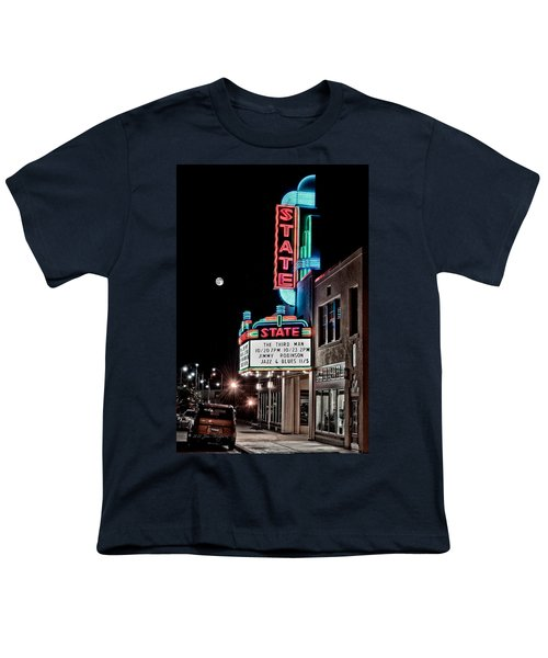 Youth T-Shirt featuring the photograph State Theater by Jim Thompson