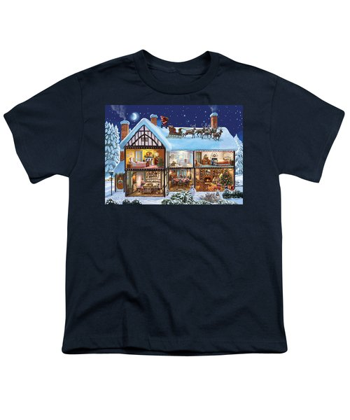 Christmas House Youth T-Shirt