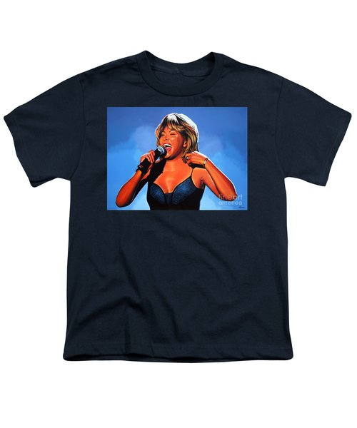 Tina Turner Queen Of Rock Youth T-Shirt