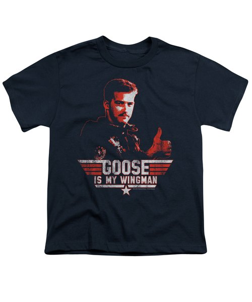 Top Gun - Wingman Goose Youth T-Shirt by Brand A