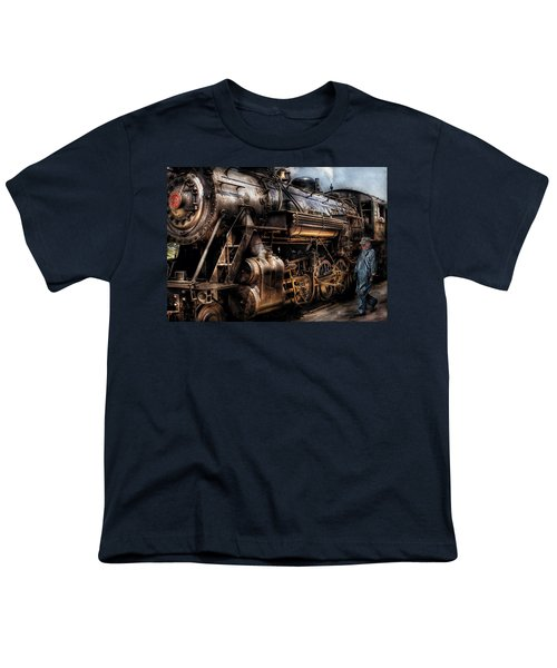 Train - Engine -  Now Boarding Youth T-Shirt