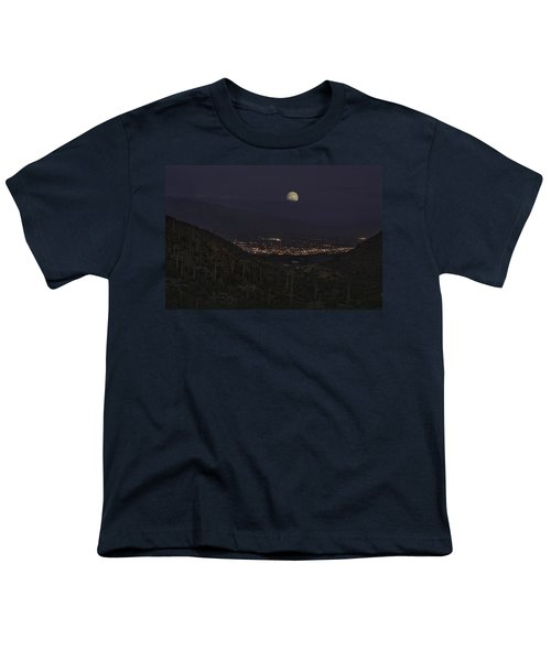 Tucson At Dusk Youth T-Shirt