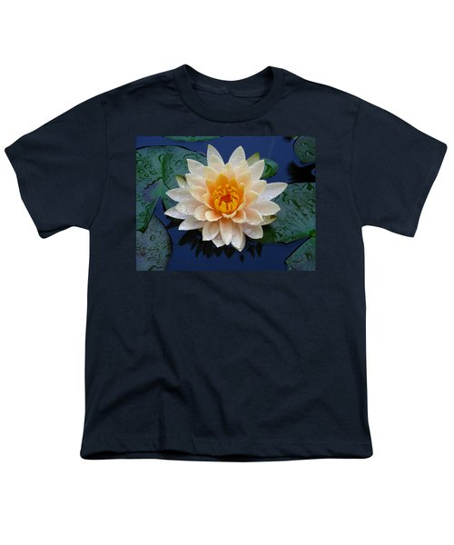 Waterlily After A Shower Youth T-Shirt