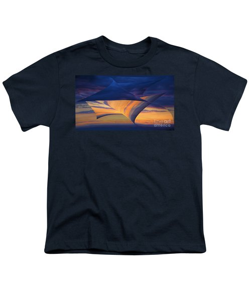 Youth T-Shirt featuring the photograph Peeling Back The Layers by Clare Bambers