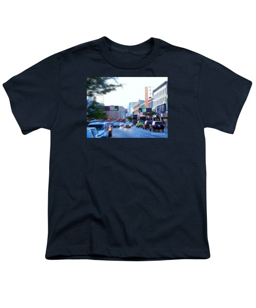 125th Street Harlem Nyc Youth T-Shirt by Ed Weidman