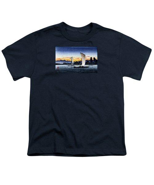 1900 Japanese Fishermen Youth T-Shirt