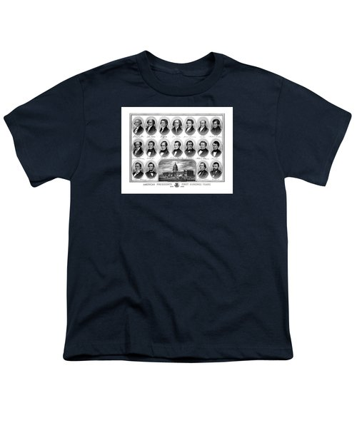 American Presidents First Hundred Years Youth T-Shirt
