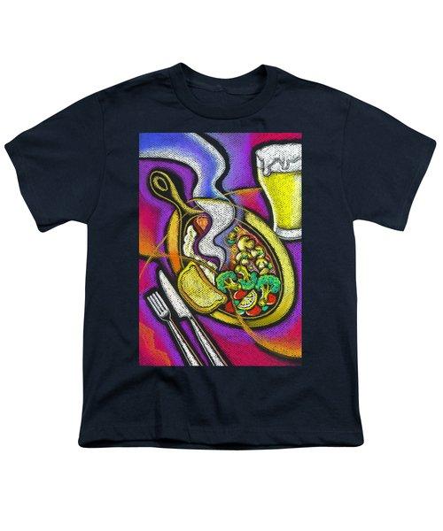 Appetizing Dinner Youth T-Shirt