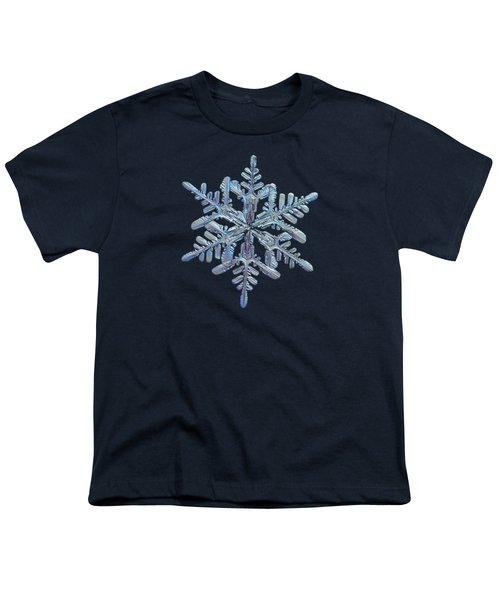 Snowflake Macro Photo - 13 February 2017 - 1 Youth T-Shirt