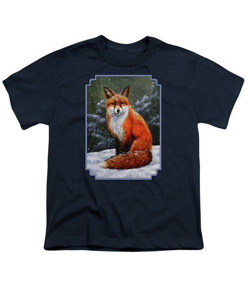 Snow Fox Youth T-Shirt