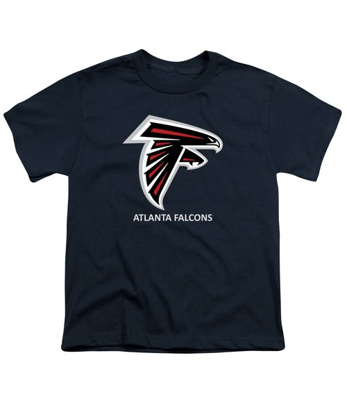 Atlanta Falcons Barn Youth T-Shirt by Movie Poster Prints