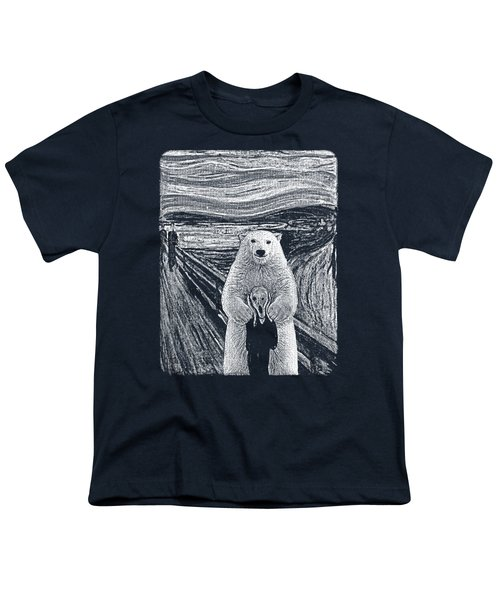 Bear Factor Youth T-Shirt by Mustafa Akgul