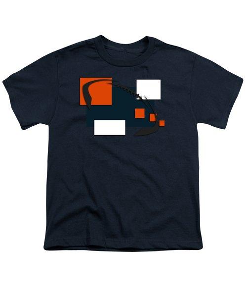 Bears Abstract Shirt Youth T-Shirt by Joe Hamilton