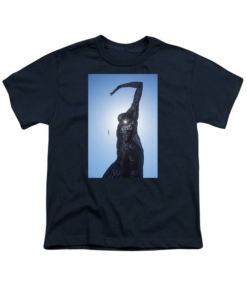 Youth T-Shirt featuring the photograph Bliss Dancer by Lora Lee Chapman