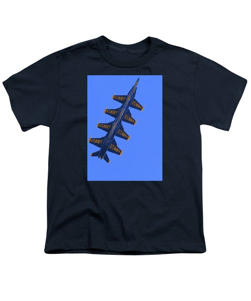 Blue On Blue Youth T-Shirt
