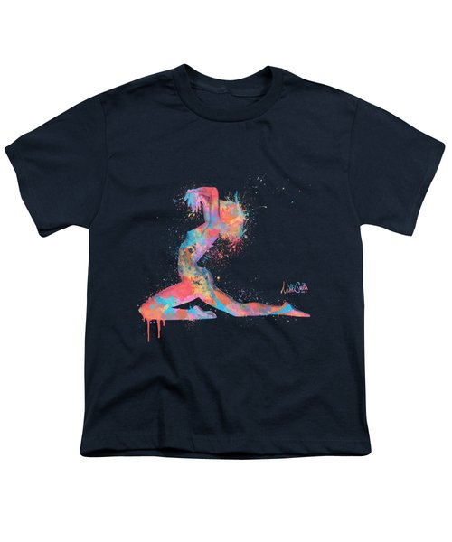 Bodyscape In D Minor - Music Of The Body Youth T-Shirt