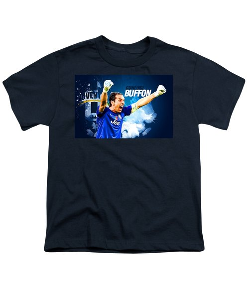 Buffon Youth T-Shirt by Semih Yurdabak