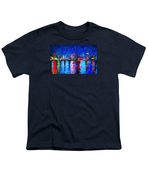 City Limits Tokyo Youth T-Shirt by Sir Josef - Social Critic - ART