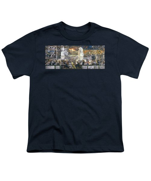 Detroit Industry   North Wall Youth T-Shirt