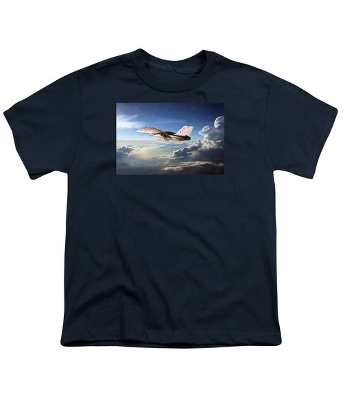 Diamonds In The Sky Youth T-Shirt by Peter Chilelli