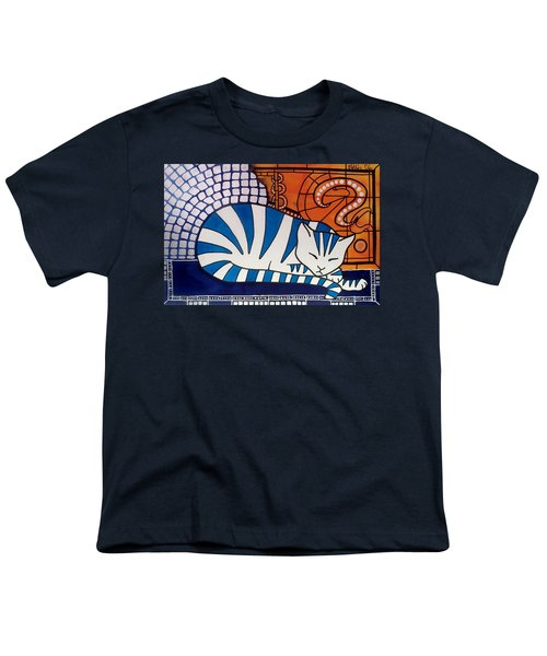 Youth T-Shirt featuring the painting Dreaming About by Dora Hathazi Mendes