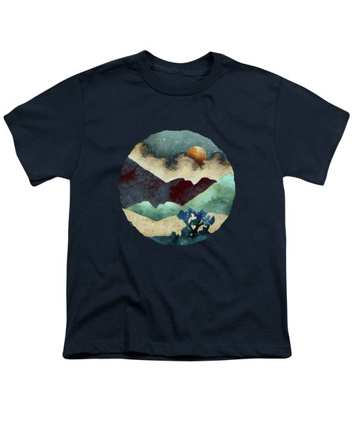 Evening Calm Youth T-Shirt by Spacefrog Designs