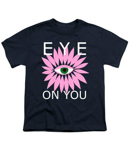 Eye On You - Black Youth T-Shirt