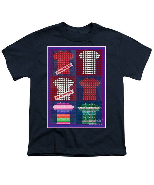 Fashion Couture Experts Designers Textures Beads Jewels T-shirt Show Buy Wall Art Interior Decoratio Youth T-Shirt by Navin Joshi
