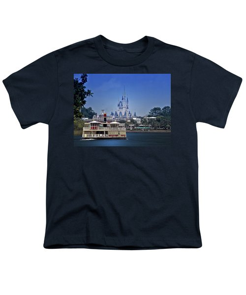 Ferry Boat Magic Kingdom Walt Disney World Mp Youth T-Shirt