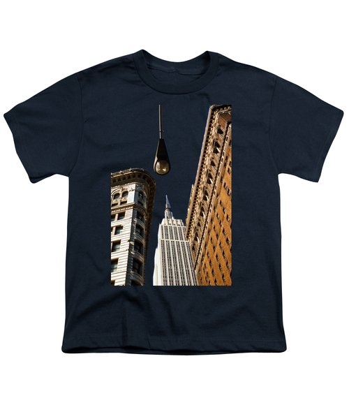 Flatiron District Youth T-Shirt by Paul Lamonica