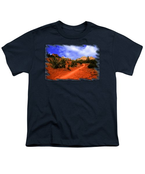 Follow Me Youth T-Shirt by Mark Myhaver