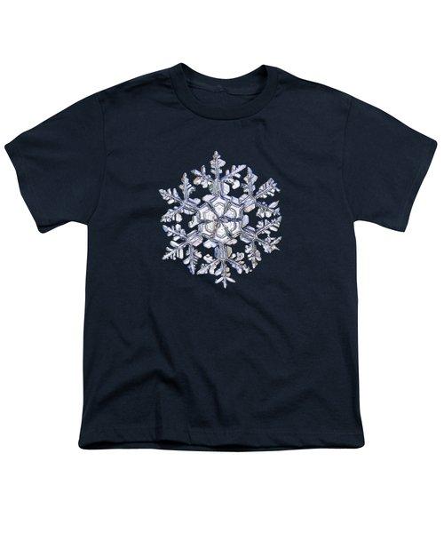 Gardener's Dream, White On Black Version Youth T-Shirt