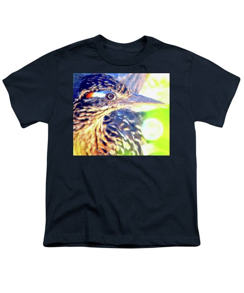 Greater Roadrunner Portrait 2 Youth T-Shirt