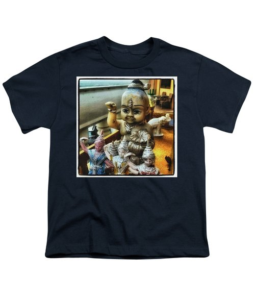 Youth T-Shirt featuring the photograph Greetings From Thailand. These Jolly by Mr Photojimsf