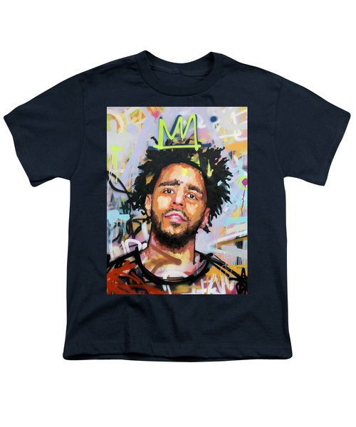J Cole Youth T-Shirt by Richard Day