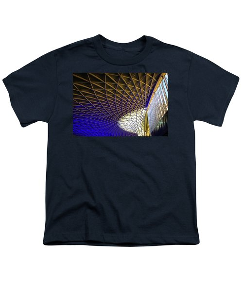 Kings Cross Railway Station Roof Youth T-Shirt
