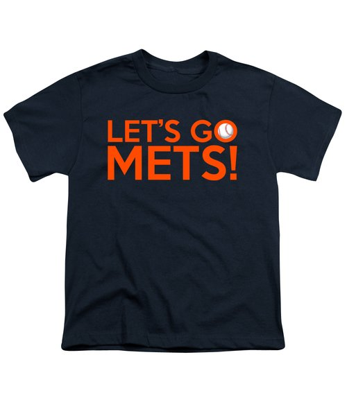 Let's Go Mets Youth T-Shirt