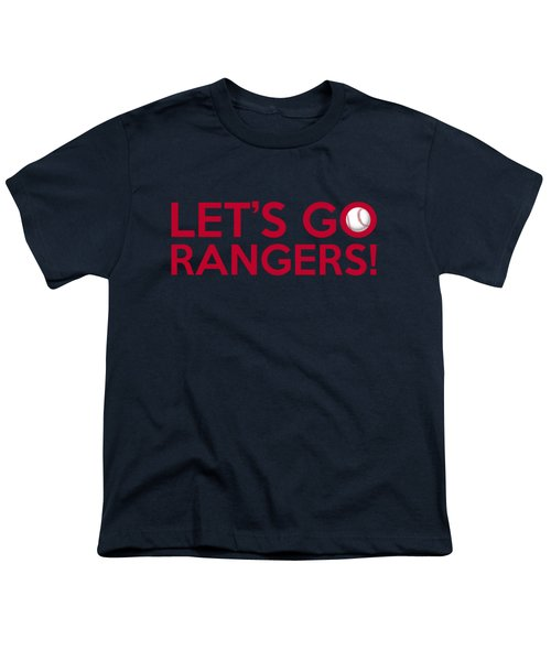 Let's Go Rangers Youth T-Shirt