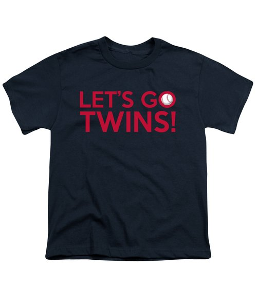 Let's Go Twins Youth T-Shirt