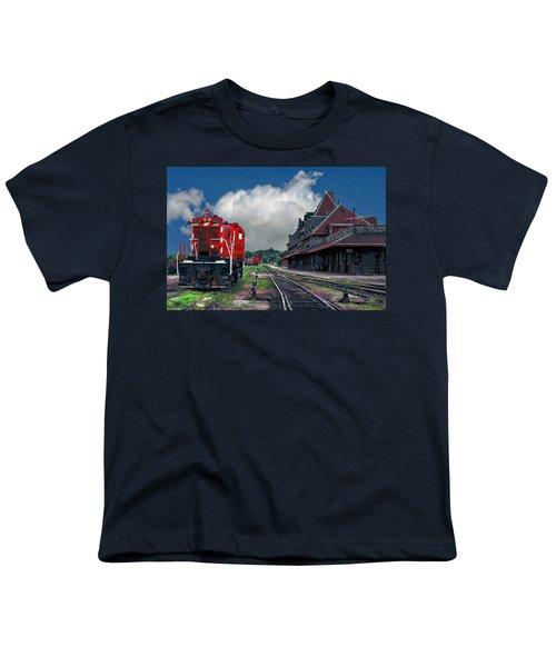 Mcadam Train Station Youth T-Shirt
