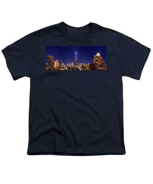 Mets Dominance Youth T-Shirt by Az Jackson