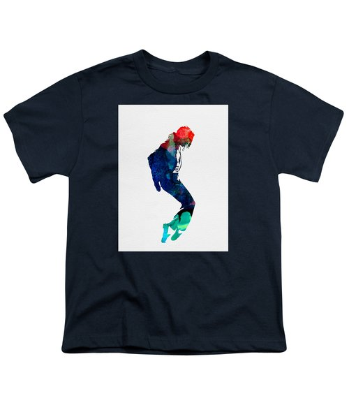 Michael Watercolor Youth T-Shirt