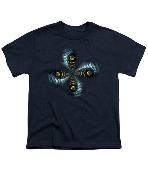 Moon Cross Youth T-Shirt by Anastasiya Malakhova