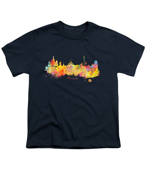 Moscow Skyline  Youth T-Shirt