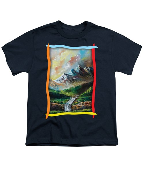 Mountains And Falls Youth T-Shirt